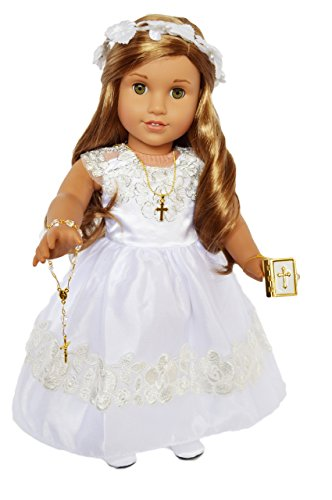 Communion Dresses Designer - Brittany's Communion Gown with Accessories for