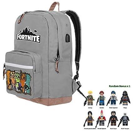 e710bf0a0b2f Amazon.com: 2019 Battle Royale Premium Backpack with Bonus Fans Cap ...
