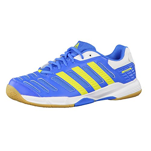 Adidas Herren Handballschuhe essence 10 37 1/3 bright blue/running white/lab lime