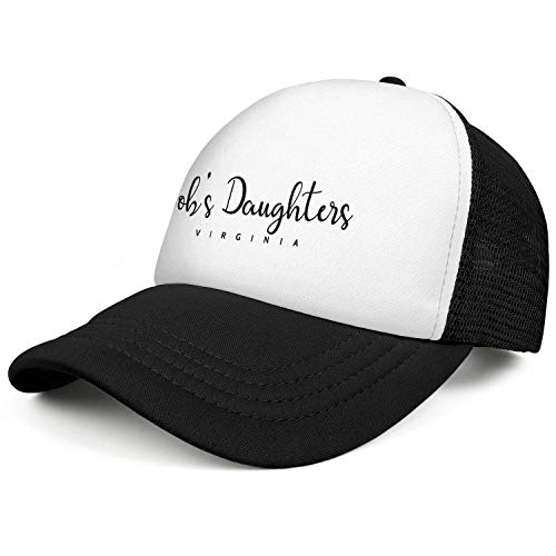 WENL Virginia Job's Daughters Unisex Mesh Baseball Hat Comfortable Soft Adjustable Sun Cap