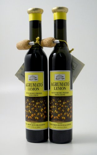 Oil Olive Agrumato Lemon - Agrumato Lemon Extra Virgin Olive Oil - 6.76 Ounces (Pack of 2)