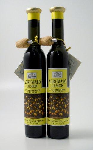 Agrumato Lemon Extra Virgin Olive Oil - 6.76 Ounces (Pack of 2)