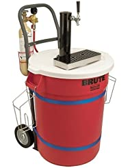 Micro Matic Mobile Draft Cart With Black ABS Draft Tower
