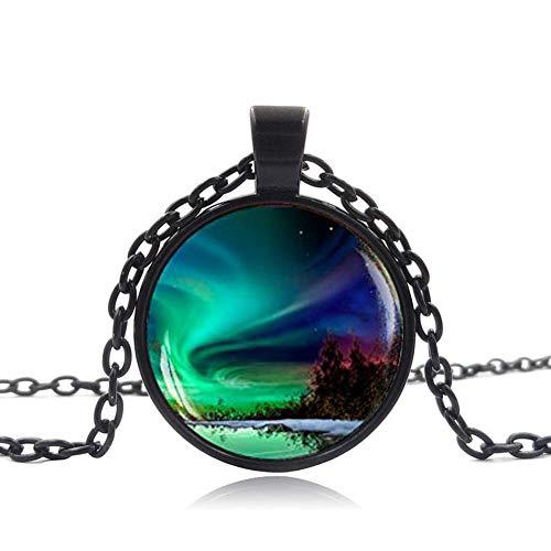- Northern Lights Pendant, Northern Light Jewelry, Light Necklace, Aurora Borealis Necklace, Aurora Necklace