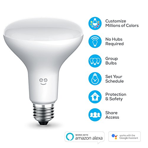geeni prisma drop br30 smart wi fi led multicolor bulb 65w equivalent no hub required works. Black Bedroom Furniture Sets. Home Design Ideas