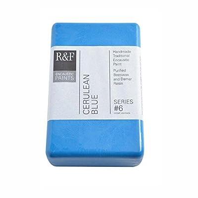 R&F Encaustic 333ml Paint, Cerulean Blue