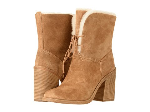 UGG Womens Jerene Boot Chestnut Size 8
