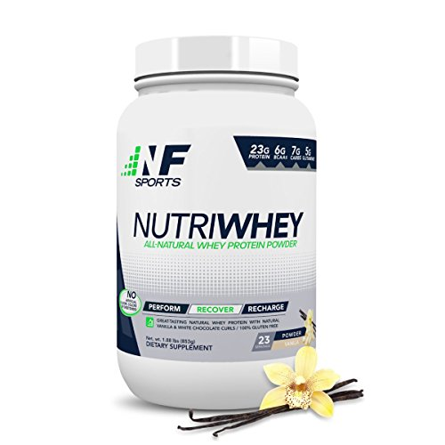 NF Sports Nutriwhey – All-Natural Whey Protein Powder That Improves Post-Workout Recovery and Muscle Repair – Vanilla Flavor – 100% Satisfaction Guaranteed – 23 Servings Review