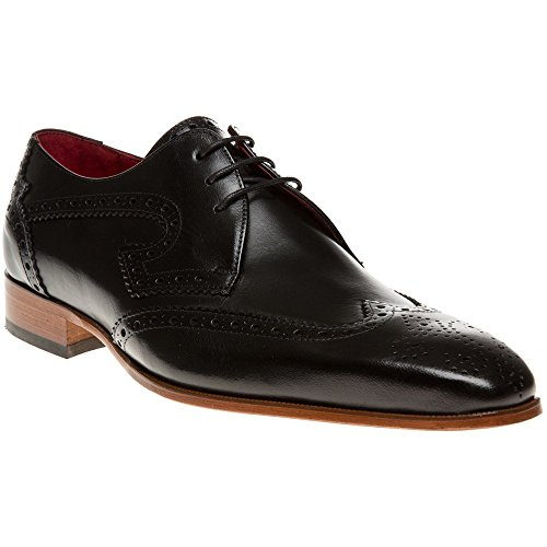 Jeffery West J924 Uomo Scarpe Nero Black