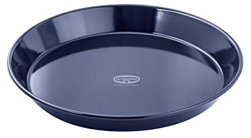Pie Enamel Plate - Dr. Oetker 2361 Enamel Pie Plate, 12-Inch