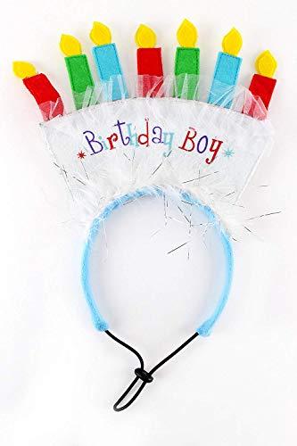 Midlee Birthday Dog Headband (Birthday ()