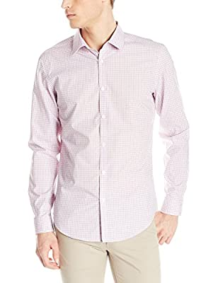 Calvin Klein Men's Long-Sleeve Cool Tech Non-Iron Shirt