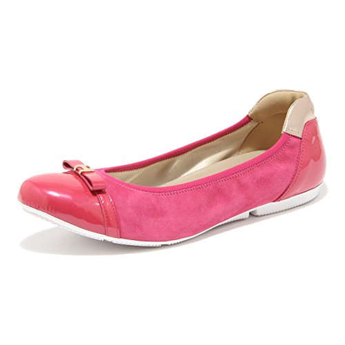 flat Fucsia ballerina 56932 donna women scarpa shoes HOGAN 8qBUdz