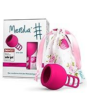 Merula G8-RTER-DT2L Kubek Menstruacyjny z Silikonu, 38 ml, Różowy