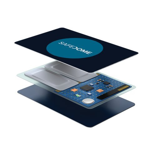 Safedome Classic - The Worlds Thinnest Bluetooth Tracking Card. Easily Find Your Lost Wallet, Bag, Backpack or Phone. Fits Perfectly in Your Wallet or Purse. by Safedome (Image #3)