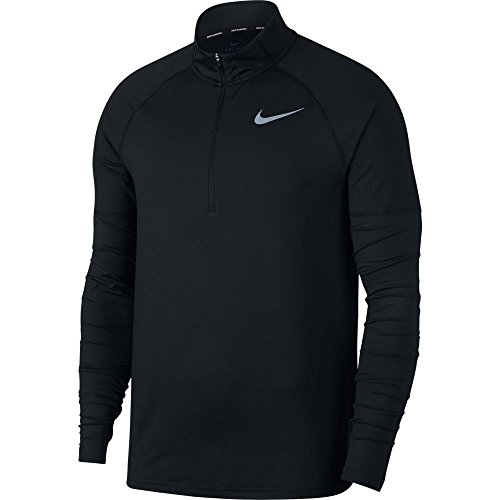 Nike Men's Element 1/2 Zip Running Top Black Size Small by Nike (Image #3)