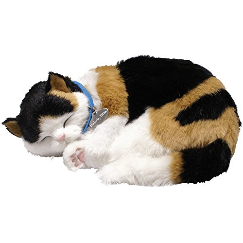 88 Unlimited Perfect Petzzz Calico Cat Pet Set with Lifelike Breathing Up to 4 Months