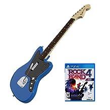 Rock Band Rivals Wireless Fender Jaguar Bundle for PlayStation 4 - Guitar Bundle Edition