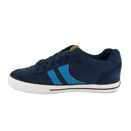 Globe Encore 2 GBENCO2 13173 Mens Laced Suede Trainers Navy - 7