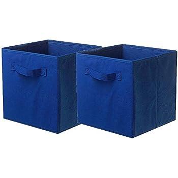bb1736462ba3 Amazoncom RiverRidge 02010 2Piece Folding Storage Bin Red