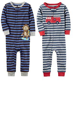 Carters Baby Cotton Zip Up Pajamas product image