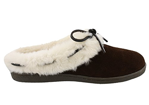 Clarks Mujeres Anabelle Slippers Marrón