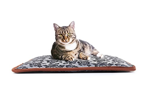 ComfiPet Premium Pet Heating Pad - Durable Waterproof Oxford Fabric Electric Warming Mat - Chew-Resistant Cord - Safe & Suitable For All Pets - AntiOverheat Temperature Control Thermostat Function (Pet Heating Pad)