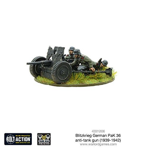 Bolt Action: Blitzkrieg German Pak 36 Anti-Tank -
