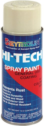 Seymour 16-140 Hi-Tech Enamels Spray Paint, Gloss Colonial W