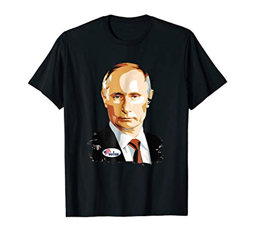 I Voted Vladimir Putin with Sticker Graphic T Shirt