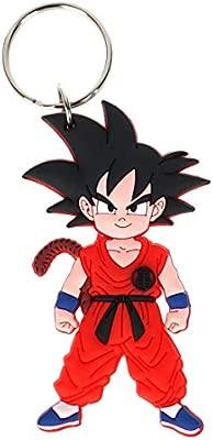 CoolChange Llavero de Dragon Ball con Figura en PVC de Son ...