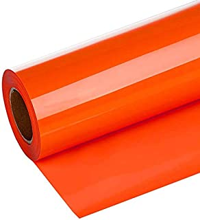Amazon Com Orange Heat Transfer Vinyl Sheet 12x36 Thermoflex Htv For T Shirts