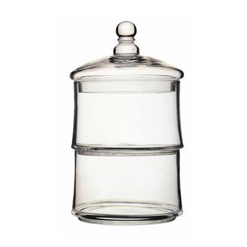 Artesa - Barattoli in vetro, impilabili, 2 pz Kitchencraft ART2TJAR
