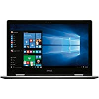 Dell Inspiron 7000 2-in-1 Flagship High Performance 15.6 Inch Full HD Touchscreen Laptop PC, Intel Core i7-7500U, 16GB RAM, 512GB SSD, MaxxAudio, Type-C Port, Windows 10, Silver