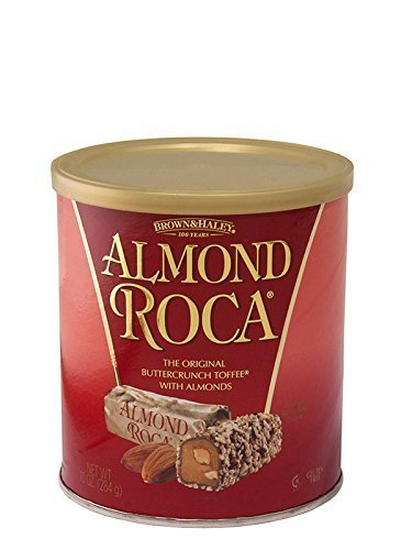Almond Roca Buttercrunch Toffee with Almonds, 10 oz by Almond -