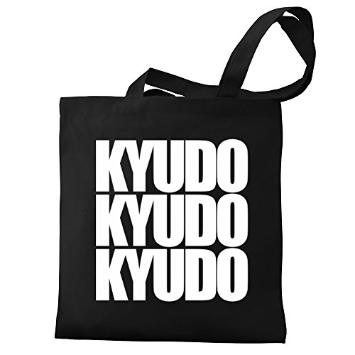 three Kyudo Eddany Canvas three Tote Eddany words Bag words Kyudo wTwpq7X