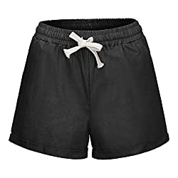 Ykaritianna Women Plus Size 2019 Pocket Bandage Solid Shorts Summer Running Sports Wide Leg Causal Sexy Home Fitness Short Pants