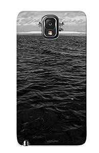 New Style Storydnrmue Water Beach Dark Noir Monochrome Blackwater Premium Tpu Cover Case For Galaxy Note 3