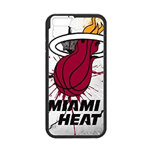 iPhone 6 4.7 Inch Cell Phone Case Black_Miami Heat_001 B6Z9O