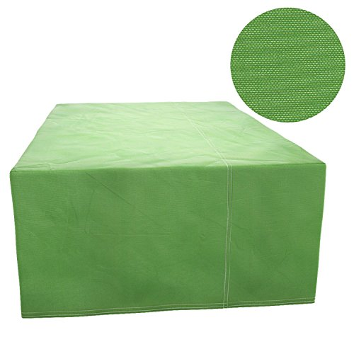 Cosway Furniture Set Covers, 106.3 x 70.9 x 35.0inch Patio Furniture Cover Water Resistant Durable Outdoor Table and Chair Cover Rectangle (Green) by Cosway (Image #2)