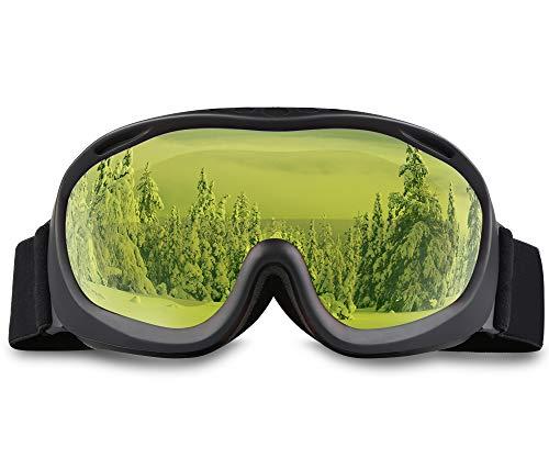 (AKASO Ski Goggles an-ti Fog Double Lens Skate Glasses for Men,Women & Youth, UV Protection Windproof Snowboard Skiing Skating.)