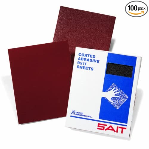 United Abrasives-SAIT 84216 AW 120D Ultimate Performance 9 by 11 Paper Sheet