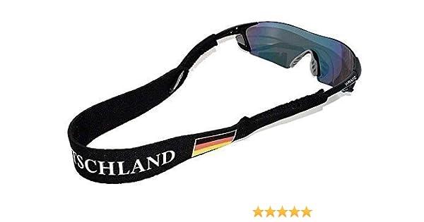Gafas de neopreno Wrapz con la bandera de Alemania flotante de tracción correa de fijación de la: Amazon.es: Ropa y accesorios