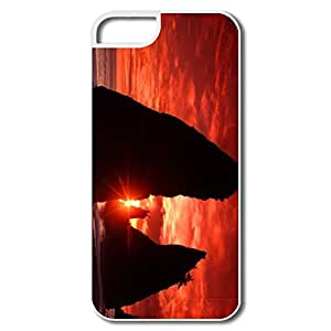 Custom Section Best Sea Stacks Knife Blood Red Sky IPhone 5/5s Case For Birthday Gift