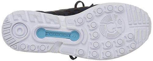 Adidas Femme Bleu Paire woman Zx Indigo flux De Indigo night night Sport lace ftwr Chaussures White Pour rwrIzqv