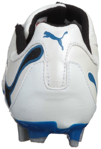 Puma PWR-C 3.10 FG JR Fußballschuhe Jungen weiss-blau