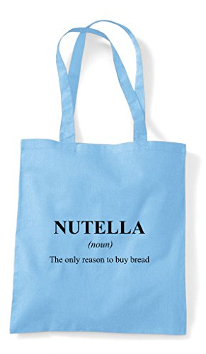 Blue The Alternative Dictionary Not Funny Tote Bag Definition Nutella Sky Shopper In XwRnPq