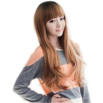 Amazon Dpist Wigs For Women Korean Fancy Long Healthy Hair Wig