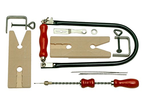 Bahco 502-Set6 Saw Frame Black, Red - Black Frame Red Blade