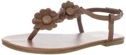 Rampage Women's Ambur T-Strap Sandal,Cognac,6.5 M US - Rampage T-strap Sandals
